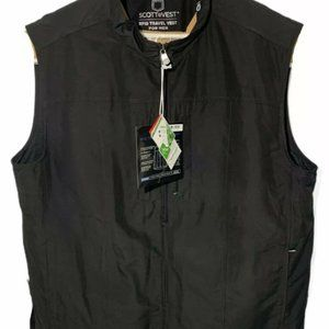 NEW SCOTTeVEST Mens Black RFID Travel Vest Sz XL